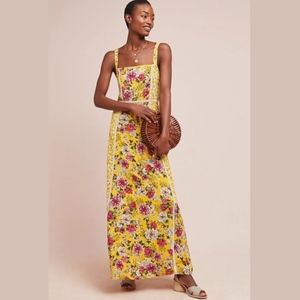 Anthropologie Farm Rio Cantonal Maxi Dress